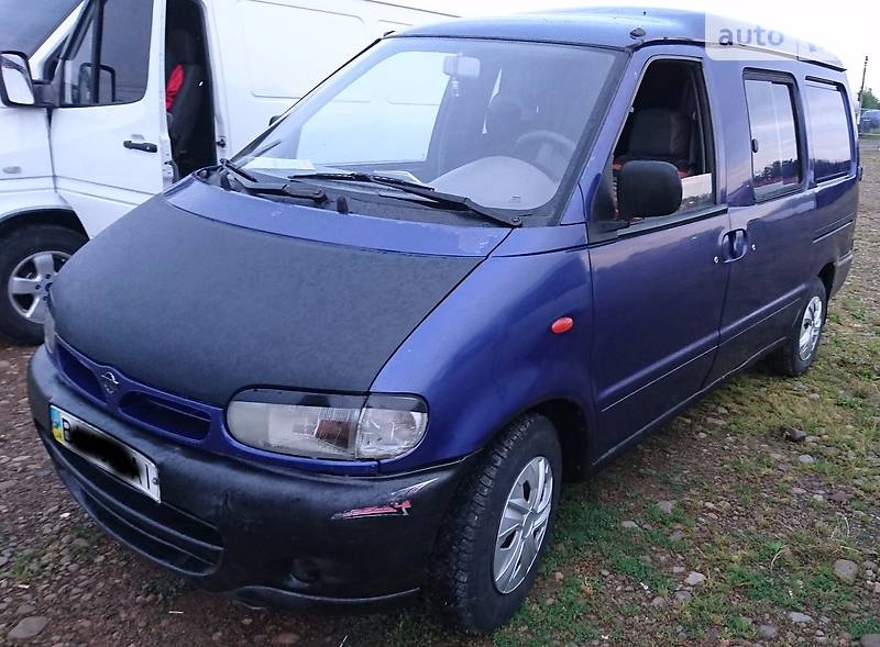 Nissan Vanette груз.