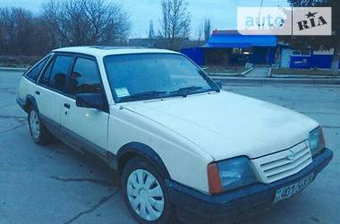 Opel Ascona ГБО 1986
