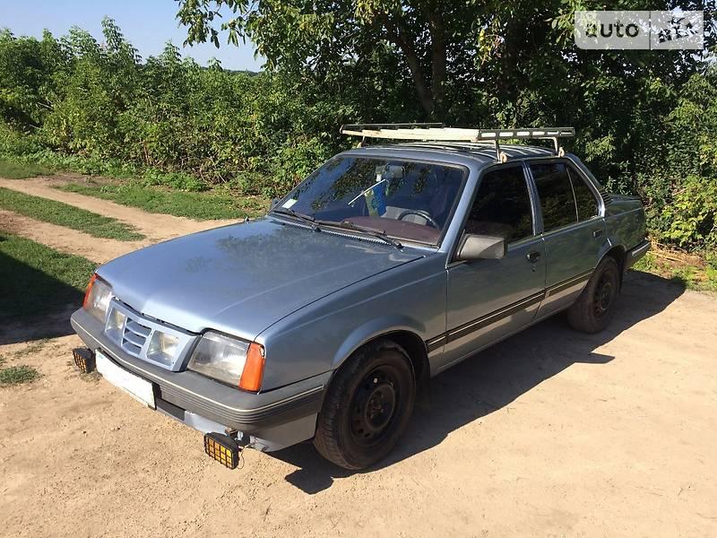 Opel Ascona 1987 года