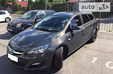 Opel Astra J  2014
