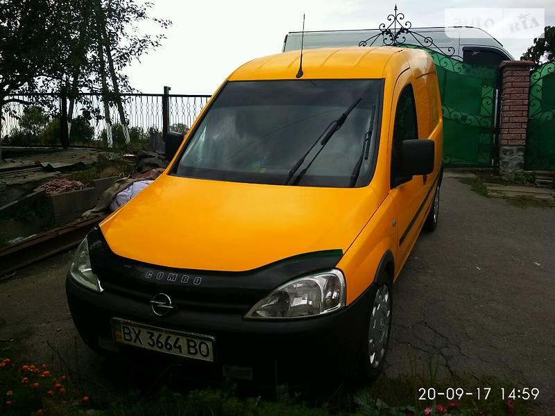 Opel Combo 2008 года