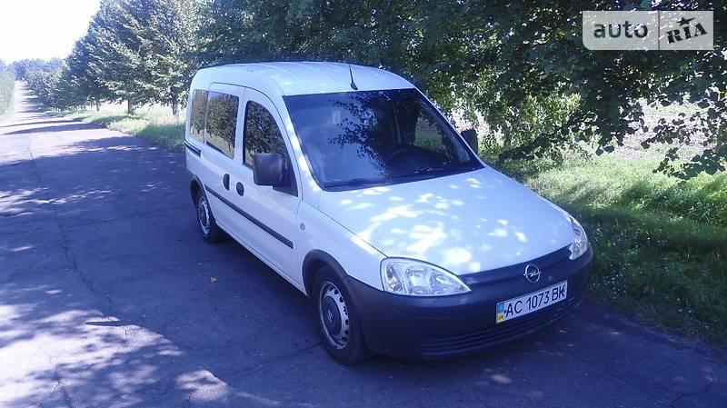Opel Combo 2007 года