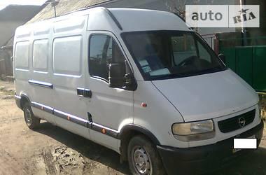 Opel Movano груз.  2000