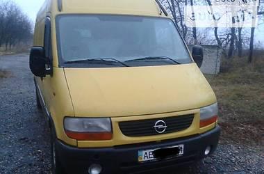 Opel Movano груз.  2003