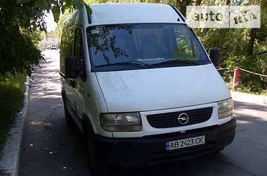 Opel Movano груз.  2002