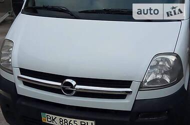 Opel Movano груз. opel movano 2007