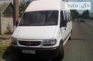 Opel Movano пасс.  2000