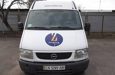 Opel Movano пасс.  2003