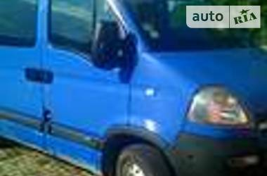 Opel Movano пасс.  8+1 2003