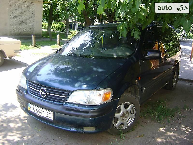Opel Sintra 1998 года
