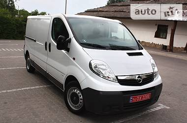 Opel Vivaro груз. LONG ECO FLEX 2013