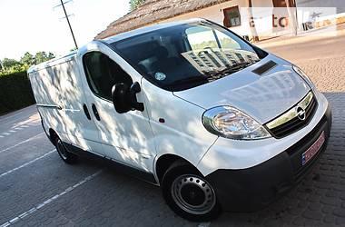 Opel Vivaro груз. LONG ECO FLEX 2012