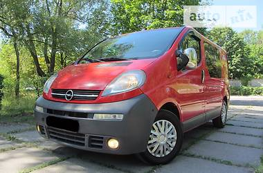 Opel Vivaro пасс. 2.5 D A T 2006