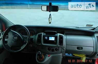 Opel Vivaro пасс.  LONG  2003