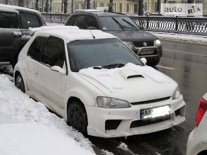 Купе Peugeot 106