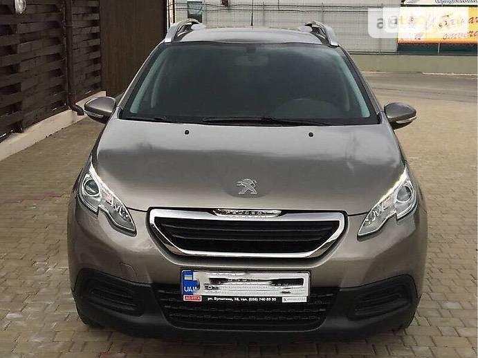 Внедорожник / Кроссовер Peugeot 2008