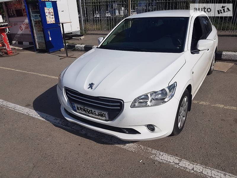 Peugeot 301 2013 года