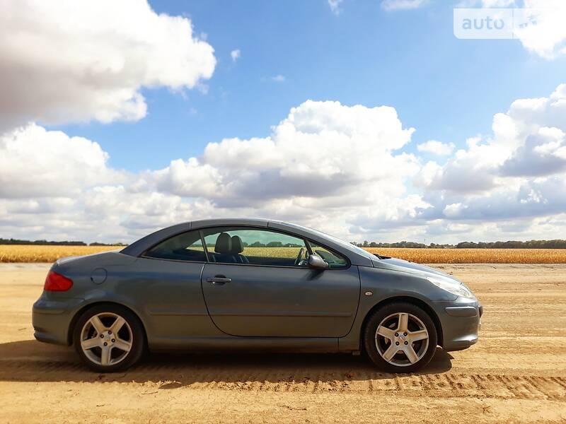 Купе Peugeot 307 CC