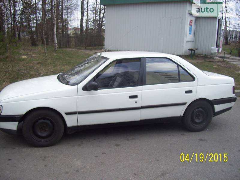 Peugeot 405 1989 року