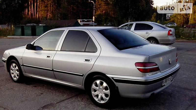 Peugeot 406 2001 року