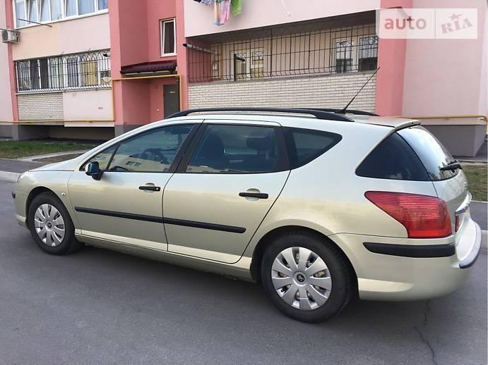 Peugeot 407 2007 года