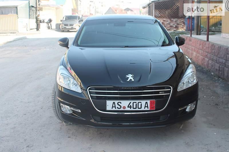 Peugeot 508 2011 года