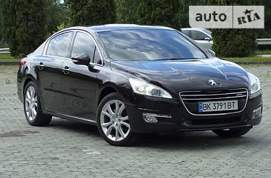 Peugeot 508 2.0 HDi Hybrid4 2012