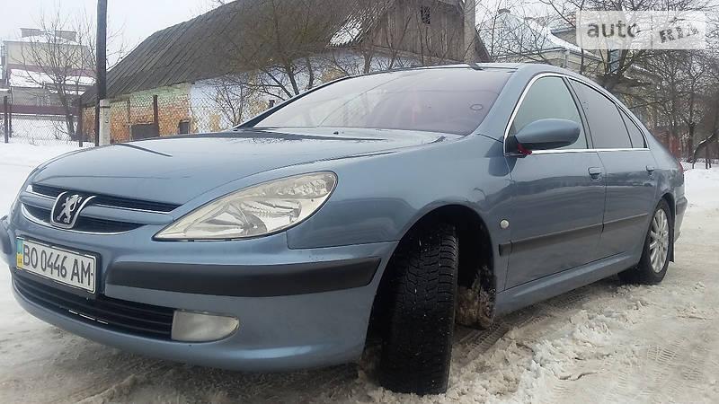 Peugeot 607 2002 року
