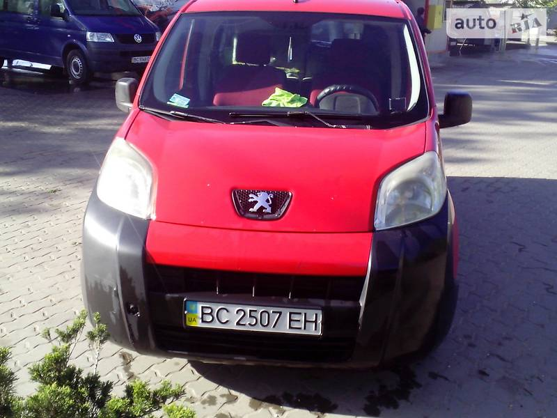 Peugeot Bipper пасс. 2008 року