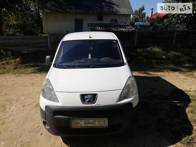 Минивэн Peugeot Partner груз.