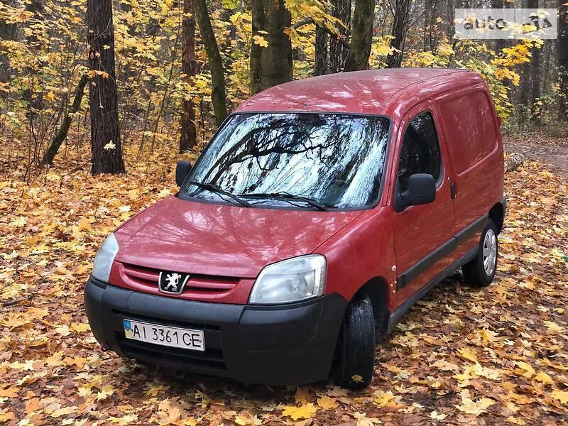 Купе Peugeot Partner груз.