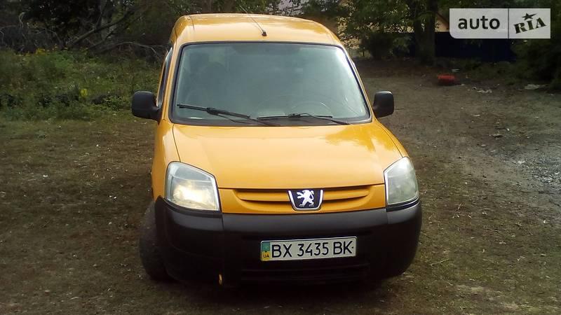 Peugeot Partner 2006 року