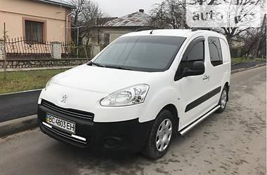 Peugeot Partner пасс. FULL 2013