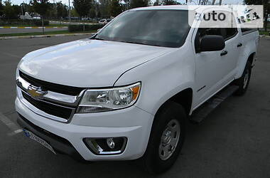 Характеристики Chevrolet Colorado Пикап