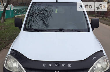 Характеристики Opel Combo груз. Пикап
