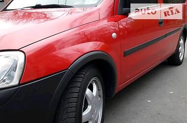 Характеристики Opel Combo пасс. Пикап