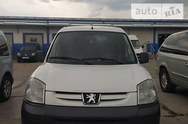 Характеристики Peugeot Partner груз. Пикап