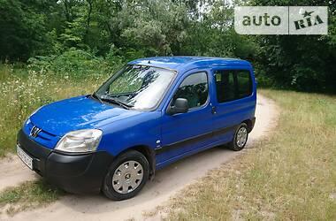 Характеристики Peugeot Partner пасс. Пикап