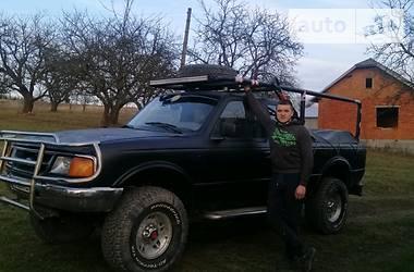 Характеристики Ford Ranger Пикап