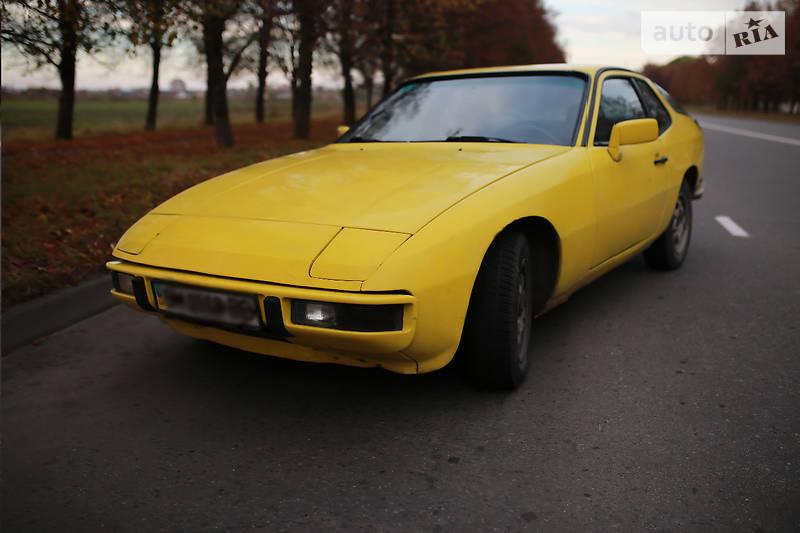 porsche 924 1978 на разборке