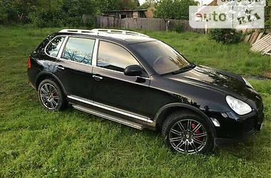 Porsche Cayenne turbo 2004