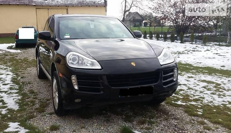 Porsche Cayenne 2007 года
