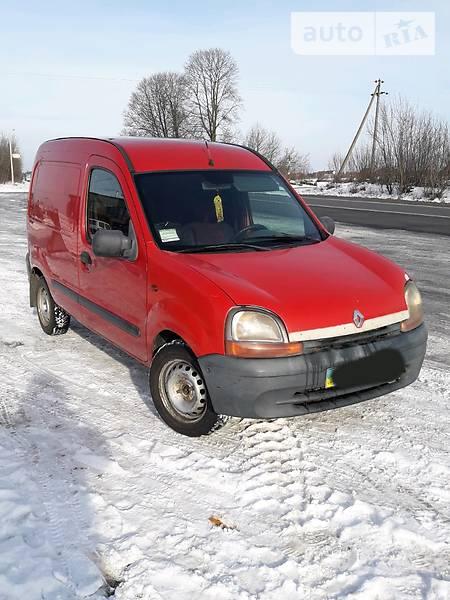 Renault Kangoo 2000 года
