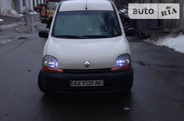 Renault Kangoo груз. пассажирский  салон 1999