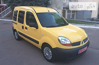 Renault Kangoo пасс.  2006