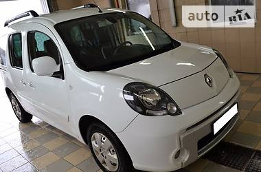 Renault Kangoo пасс. White Carbone Edit 2011