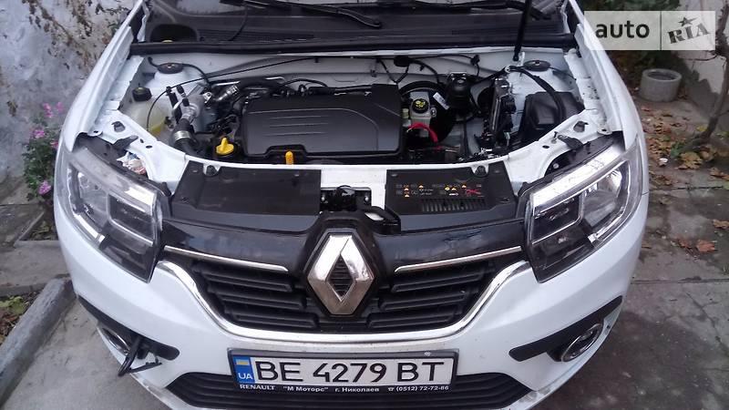 Renault Logan 2016 года