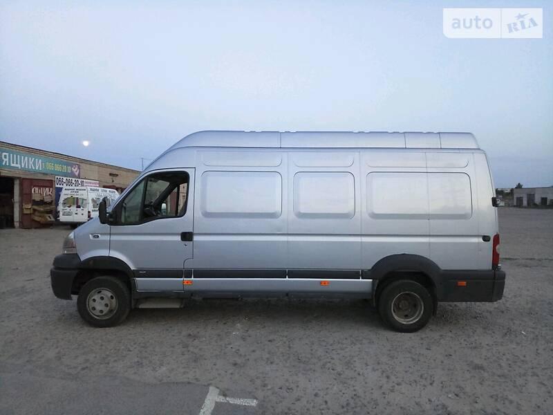 Микроавтобус грузовой (до 3,5т) Renault Mascott груз.