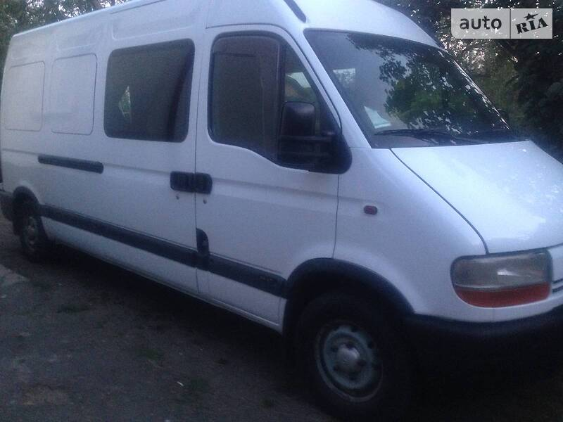 Renault Master груз.-пасс.