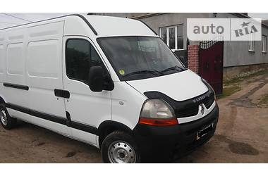 Renault Master груз. 120dci long 2007